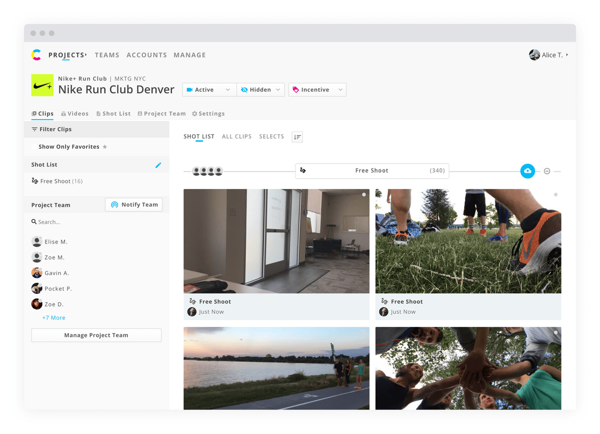 The Project view header got a complete overhaul to include new features without becoming too cluttered.